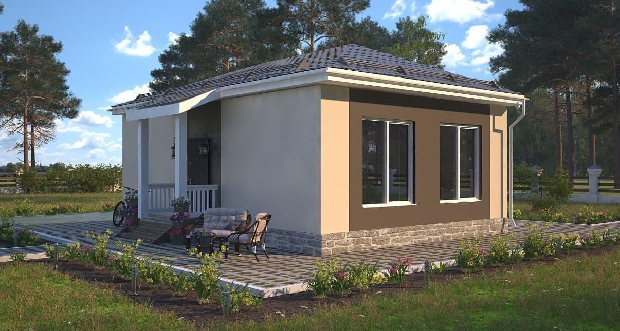 Кирпичный дом за 100 дней