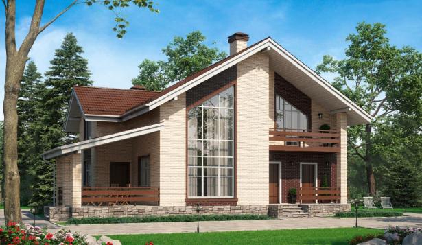 Проект дома с 2 санузлами
