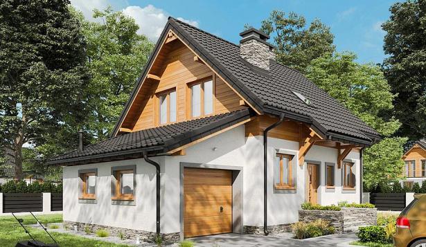 Проект дома в скандинавском стиле