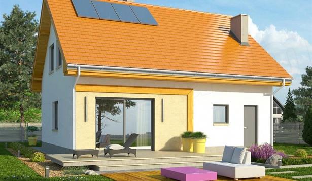 Проект квадратного дома