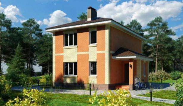 Проект дома с 3 спальнями